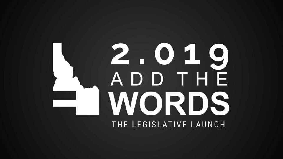 Add The Words 2019 legislative Launch