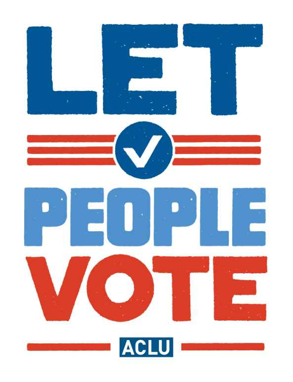 "text in blue and red saying ""let people vote"""